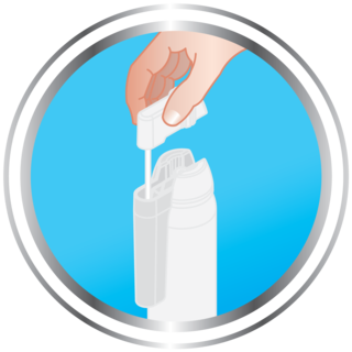 Step 2 how to use Cryotag skin tag remover