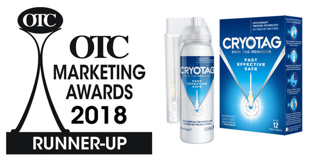 Cryotag OTC marketing award